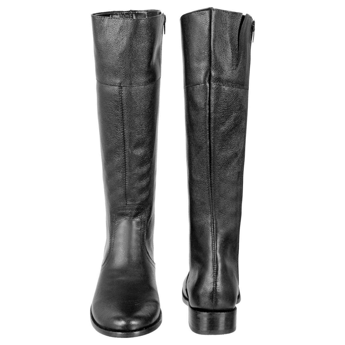 c016b87f65 bota montaria feminina cano médio em couro super leve 205. Carregando zoom.