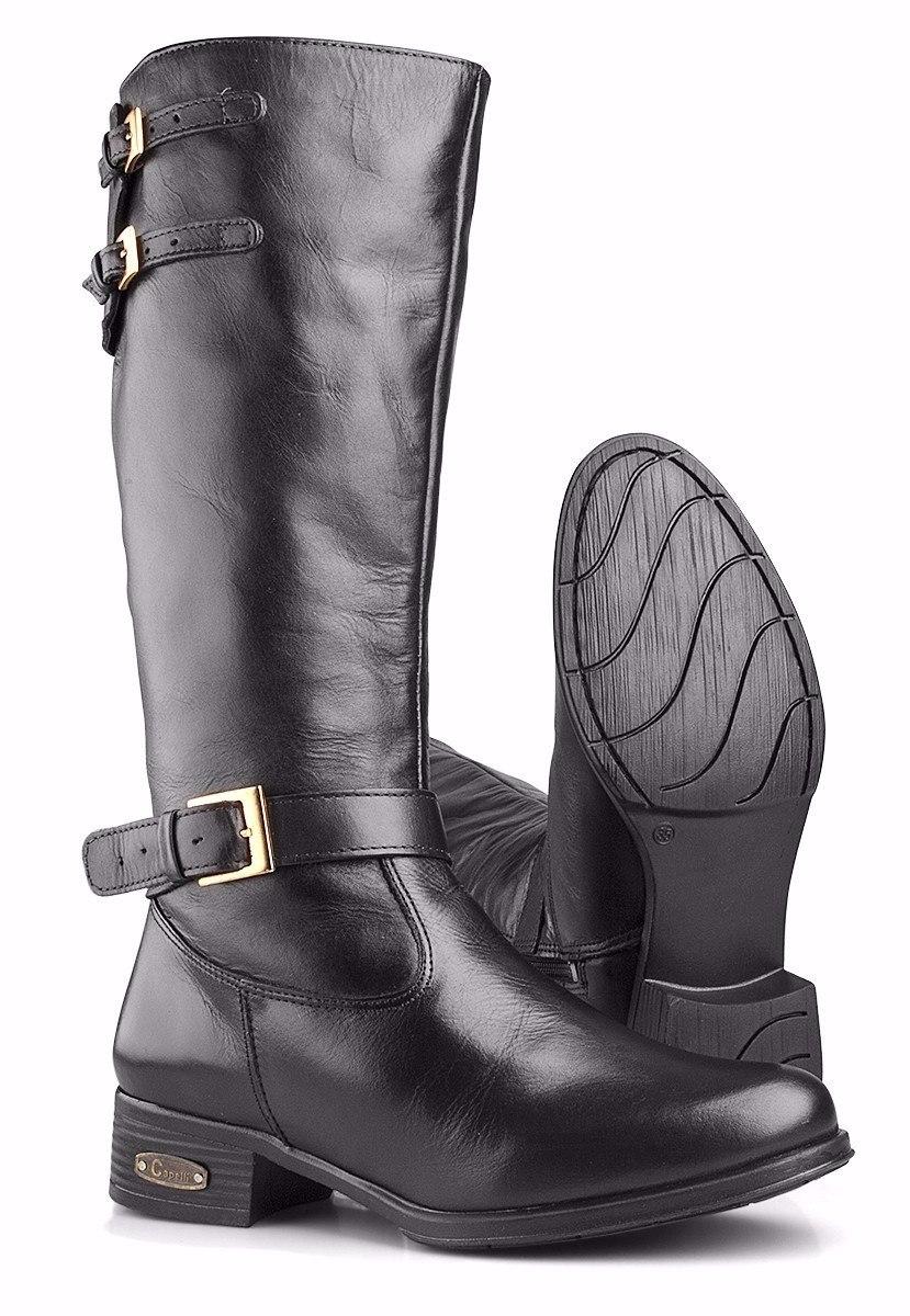 14dc6698a5 bota montaria feminina couro cano alto country capelli boots. Carregando  zoom.