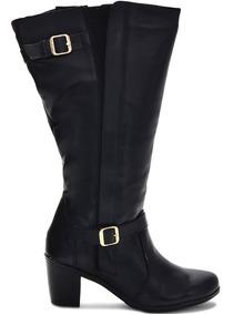 e27803b215 Botas Femininas Montaria Com 43 Cm De Panturrilha - Sapatos com o Melhores  Preços no Mercado Livre Brasil