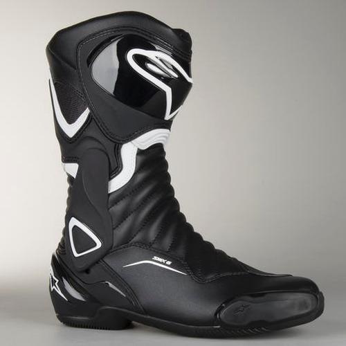 bota moto alpinestars smx-6 v2 preta branca