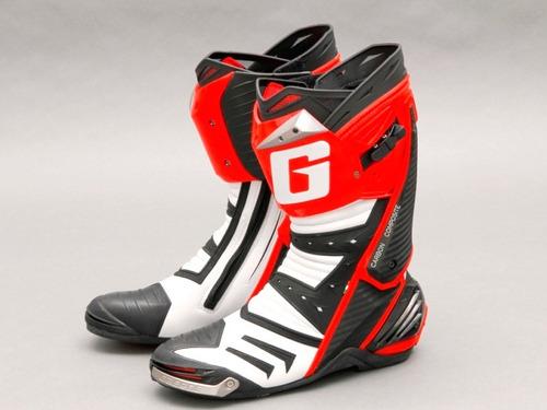 bota moto gaerne gp1 racing italiana de competição