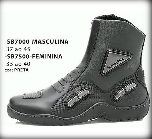 Bota Motociclista Cano Curto Couro Hidrofugado Impermeável - R  330 ... 19ea763551f