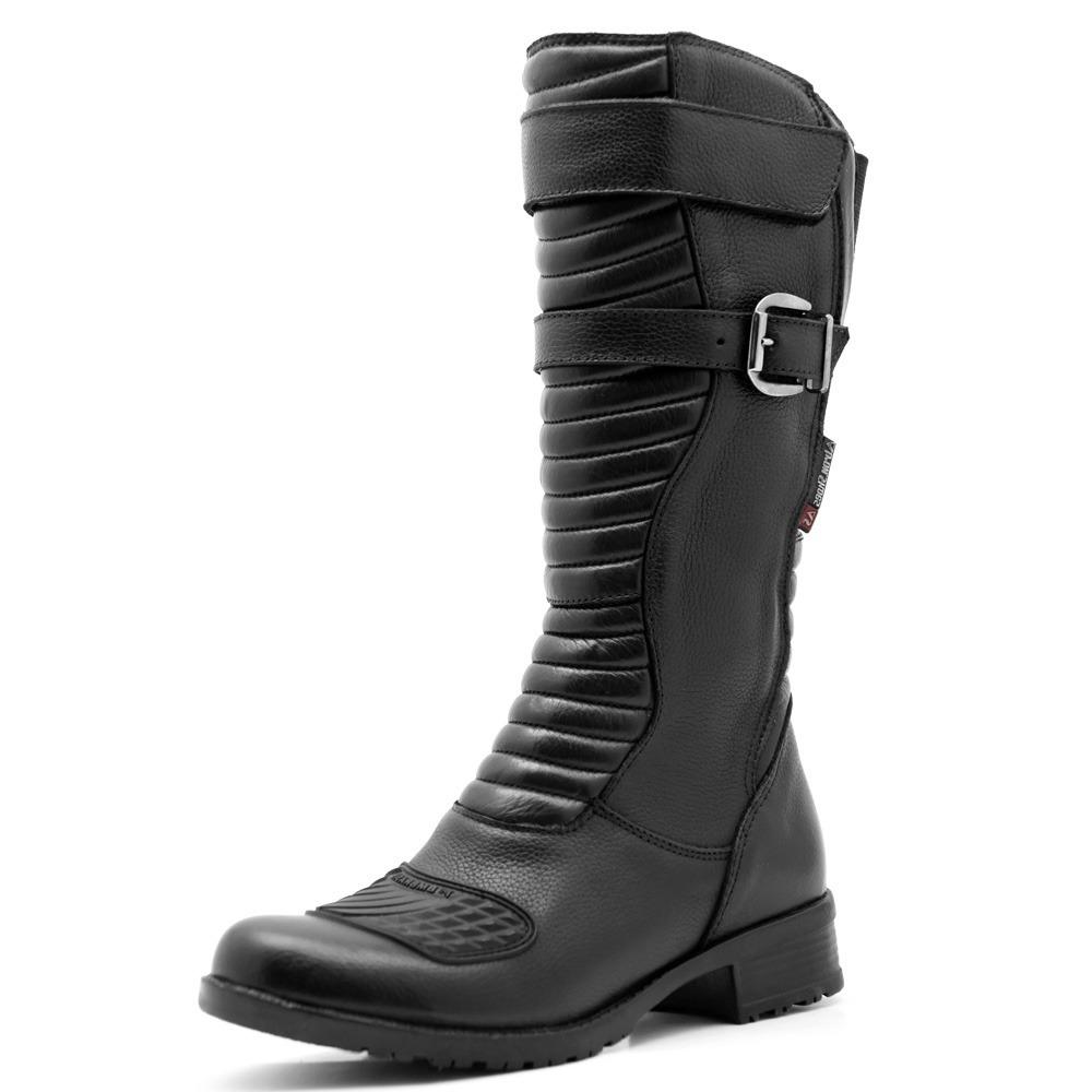 c6a5c837379 bota motociclista feminina 100% couro resistente confortável. Carregando  zoom.