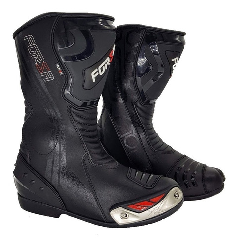 bota motociclista forza new long rider racing