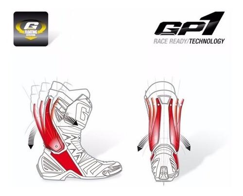 bota motociclista gaerne gp1 racing carbon mesma do motogp
