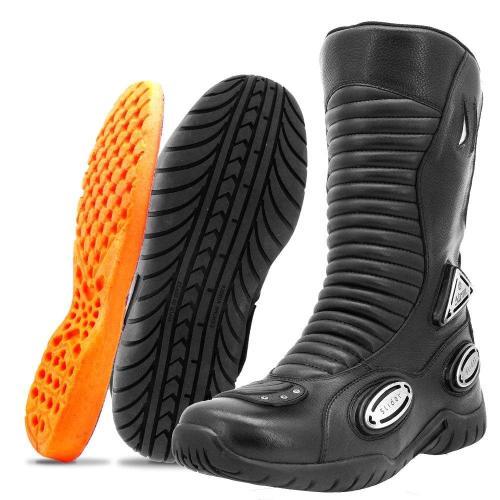 892afe8035 bota motociclista masculina couro impermeável cano alto. Carregando zoom.