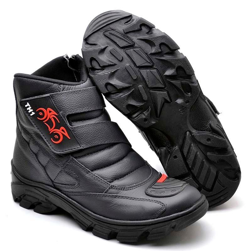 91f7d2aaa2 bota motociclista masculina couro resistente cano alto ninja. Carregando  zoom.