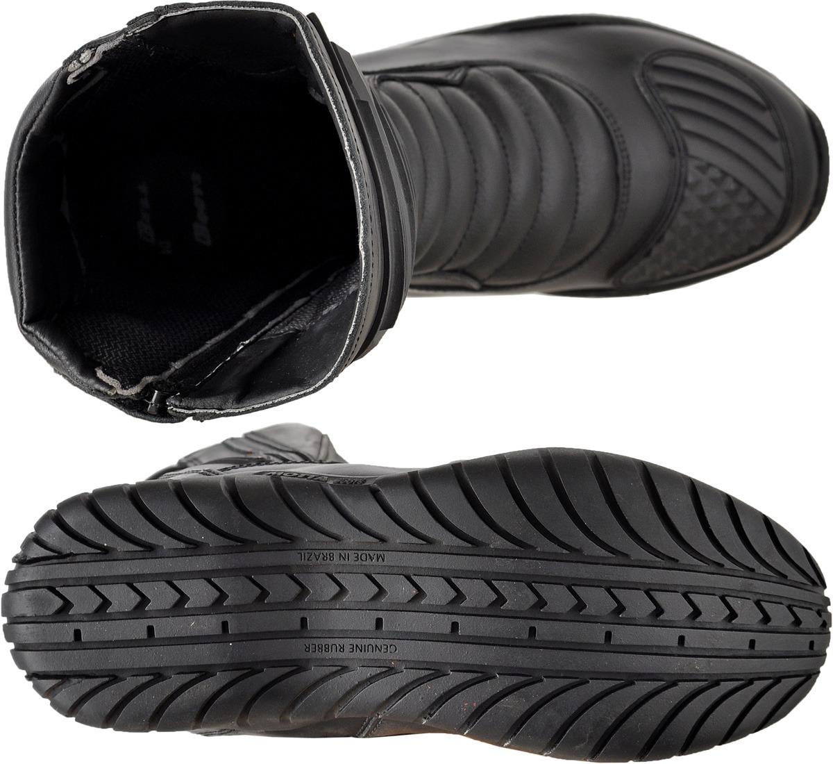 29ebca5943 bota motociclista slim soft bell boots couro cano alto- bb. Carregando zoom.