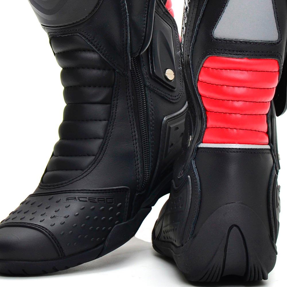 e13c692b3a bota motociclista speed coturno moto cano alto ziper couro. Carregando zoom.
