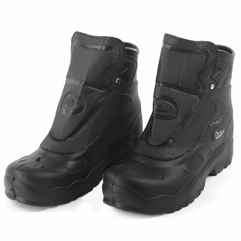 e1e57c6d9eb bota motoqueiro borracha 100% impermeável delta 43-44. Carregando zoom.
