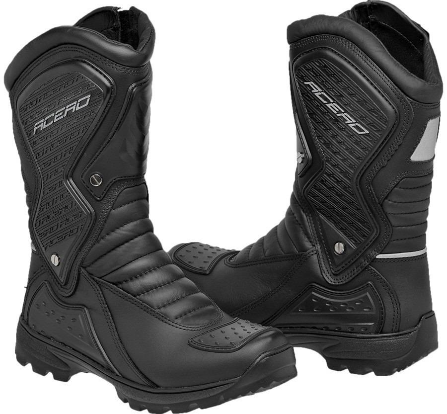 e0e527acb54 bota motoqueiro couro coturno motociclista resistente água. Carregando zoom.
