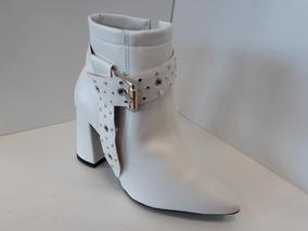 cefa3b3c Botas Blancas De Cuero Mujer - Botas y Botinetas en Mercado Libre Argentina