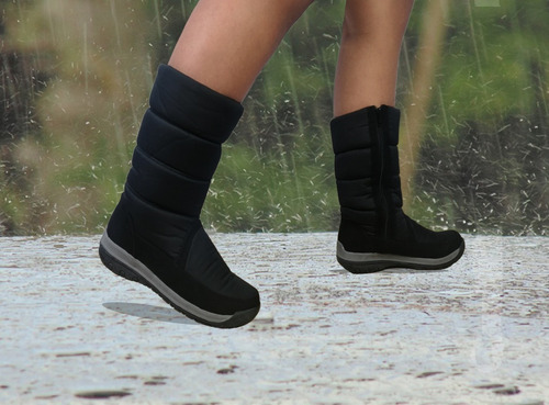 bota mujer térmica impermeable lluvia
