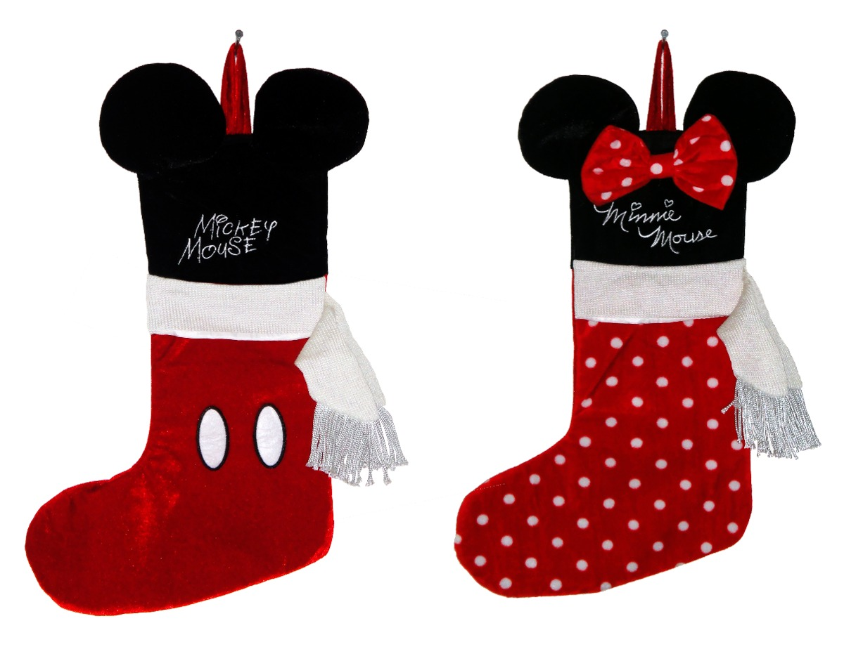 Mickey Mouse Decoracion Navidad ~ Bota Navide?a Mickey Mouse Minnie Disney Decoraci?n Mimi  $ 389 00