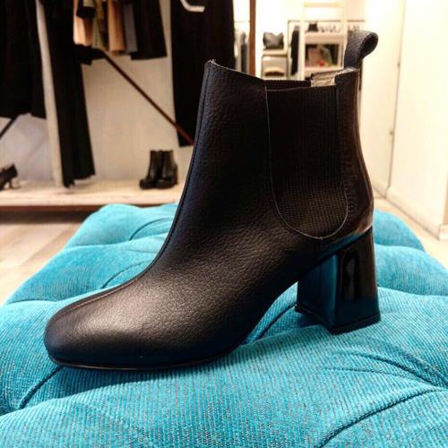 bota negra 100% cuero!! diseños exclusivos!