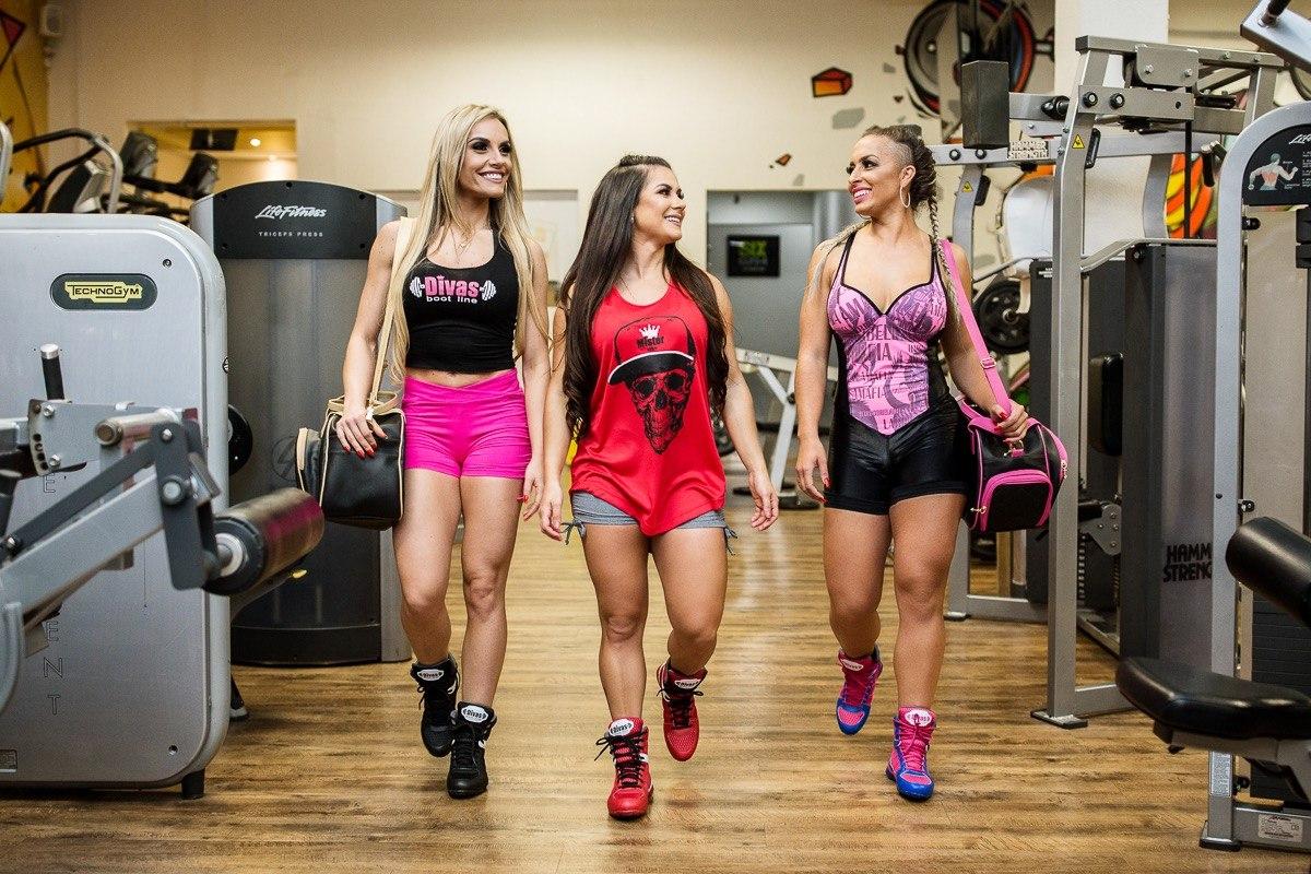 Bota New Treino Divas Fitness + Regata Verão - R  189 e4be1173be2