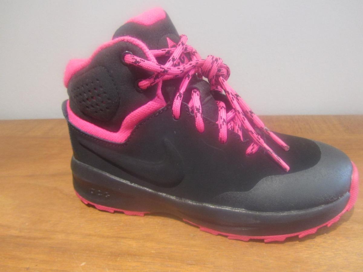 be5d29c4917db Bota Nike Acg Color Negro Rosa Talla 17cm C445 -   799.00 en Mercado ...