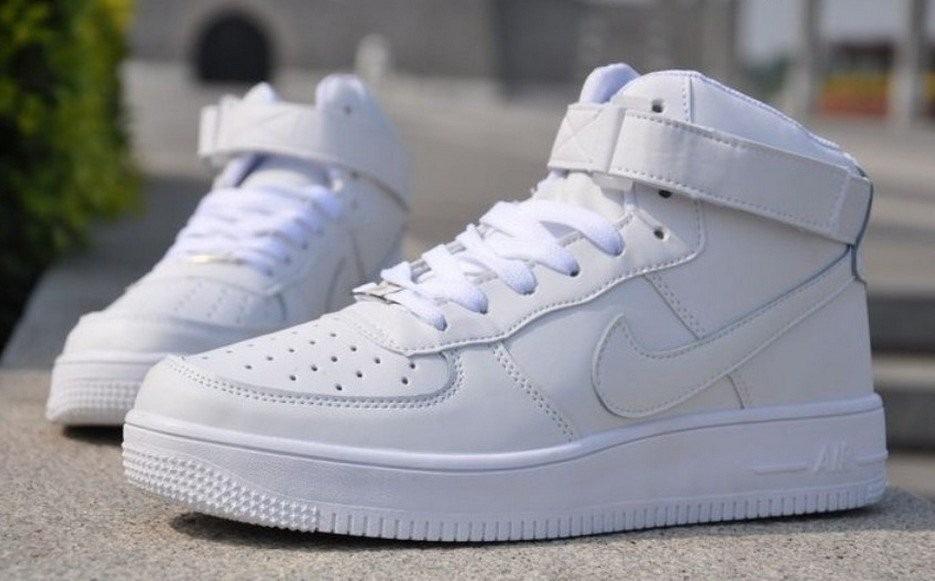 Bota Nike Air Force 1 Em Couro 100 Original Mesmo R