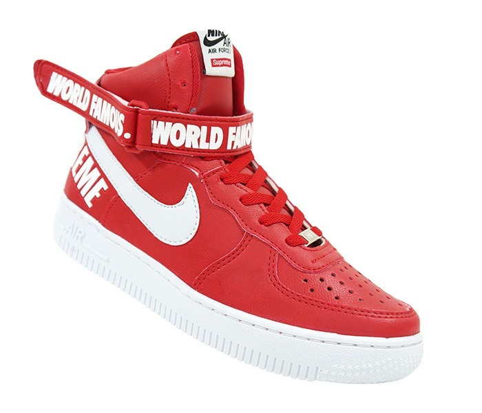 Cano Alto Bota Air Force 1 Nike Supreme W9D2IEH