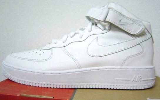 adff3228352ea Bota Nike Air Force One Originales Blanco -   2