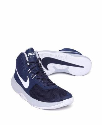 13c66474da0 Bota Nike Air Precision Basketball Azul Caballero -   1