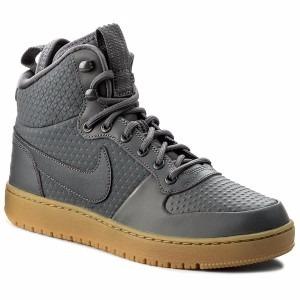 e970e368a2 Bota Nike Court Borough Mid Winter Gris Caballero -   2