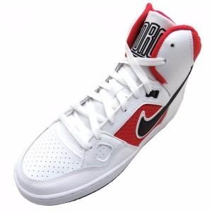quality design 585f8 d4a4a bota nike force mid 616281-141 blanco rojo nuevo