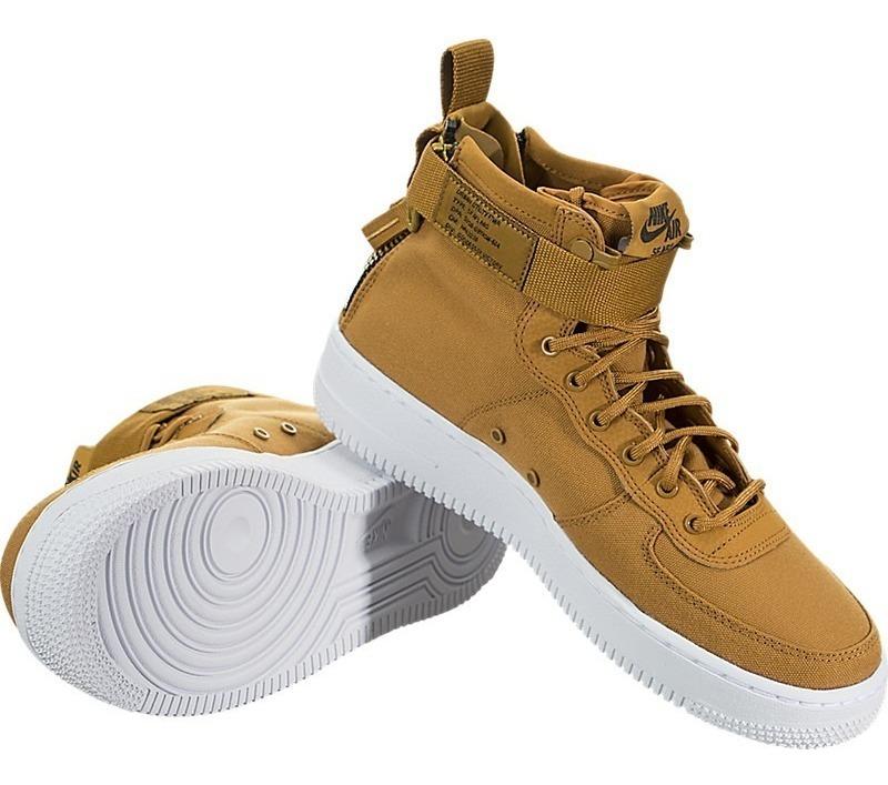 cheaper ff280 46a54 Bota Nike Sf Af1 Mid (gs) Aj0424 Air Force One 24 25 Cm