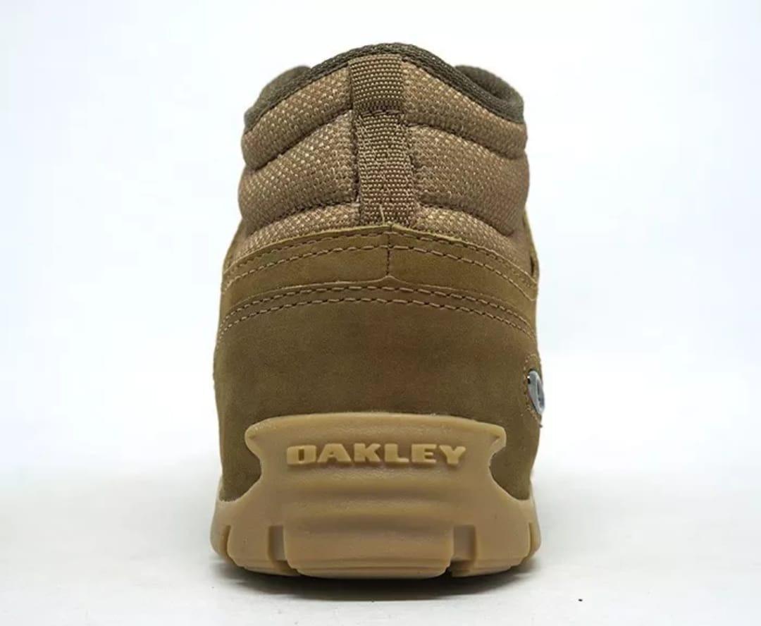 bota oakley beckon. couro frete grátis lançamento promoção!! Carregando zoom . 59fa10c1e71