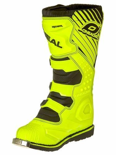 bota oneal rider negro/amarilla 40-41-42-43-44 rutadeporte