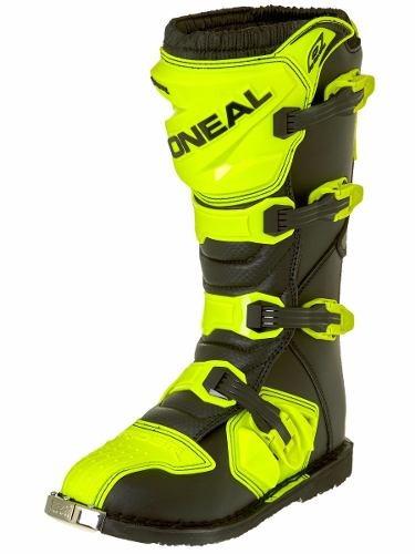 bota oneal rider negro/amarilla n41