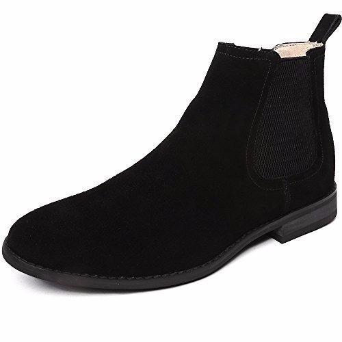 bota ououvalley classic de chelsea negra 7  us