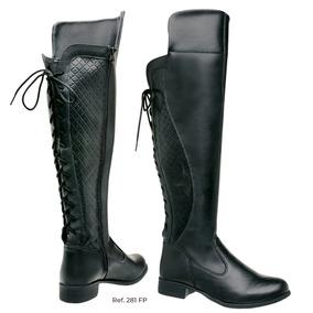59c640c66c Botas Para Panturrilhas Grossas - Sapatos para Feminino com o Melhores  Preços no Mercado Livre Brasil