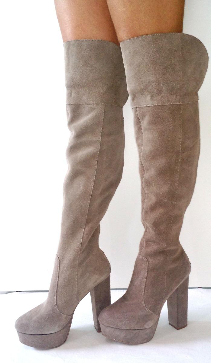 1dc46afcd8 bota over knee cano longo 50 cm preta ou marrom - promoção. Carregando zoom.