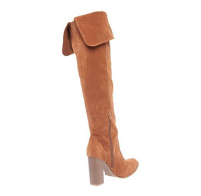 dc71b4a0e Bota Over The Knee Luz Da Lua - Botas Arezzo Marrom no Mercado Livre ...