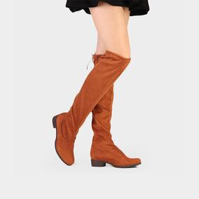 4f618ae98 Bota Over The Knee Vinho - Botas para Feminino Amarelo no Mercado ...