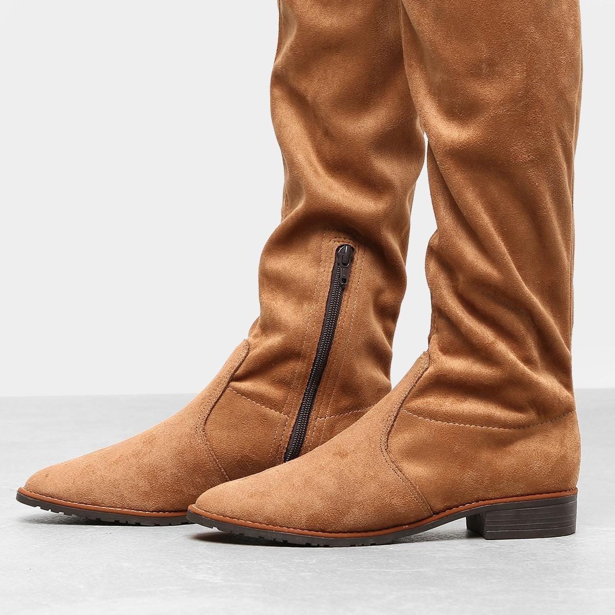 5d2972965 Bota Over The Knee Drezzup Amarração Feminina - R$ 99,99 em Mercado ...