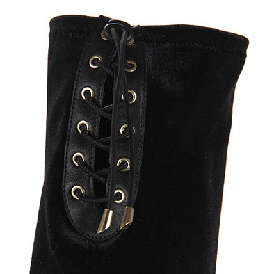 bota over the knee feminina via marte - preto