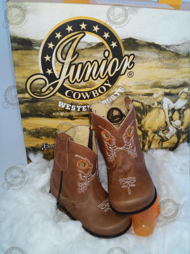 bota para bebe junior cowboy