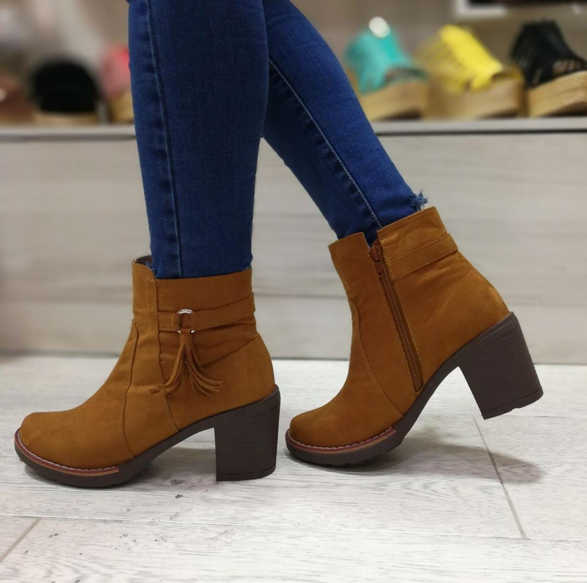 509f2c5cb5be0 bota para dama moda femenina calzado mujer botin dama tacon. Cargando zoom.