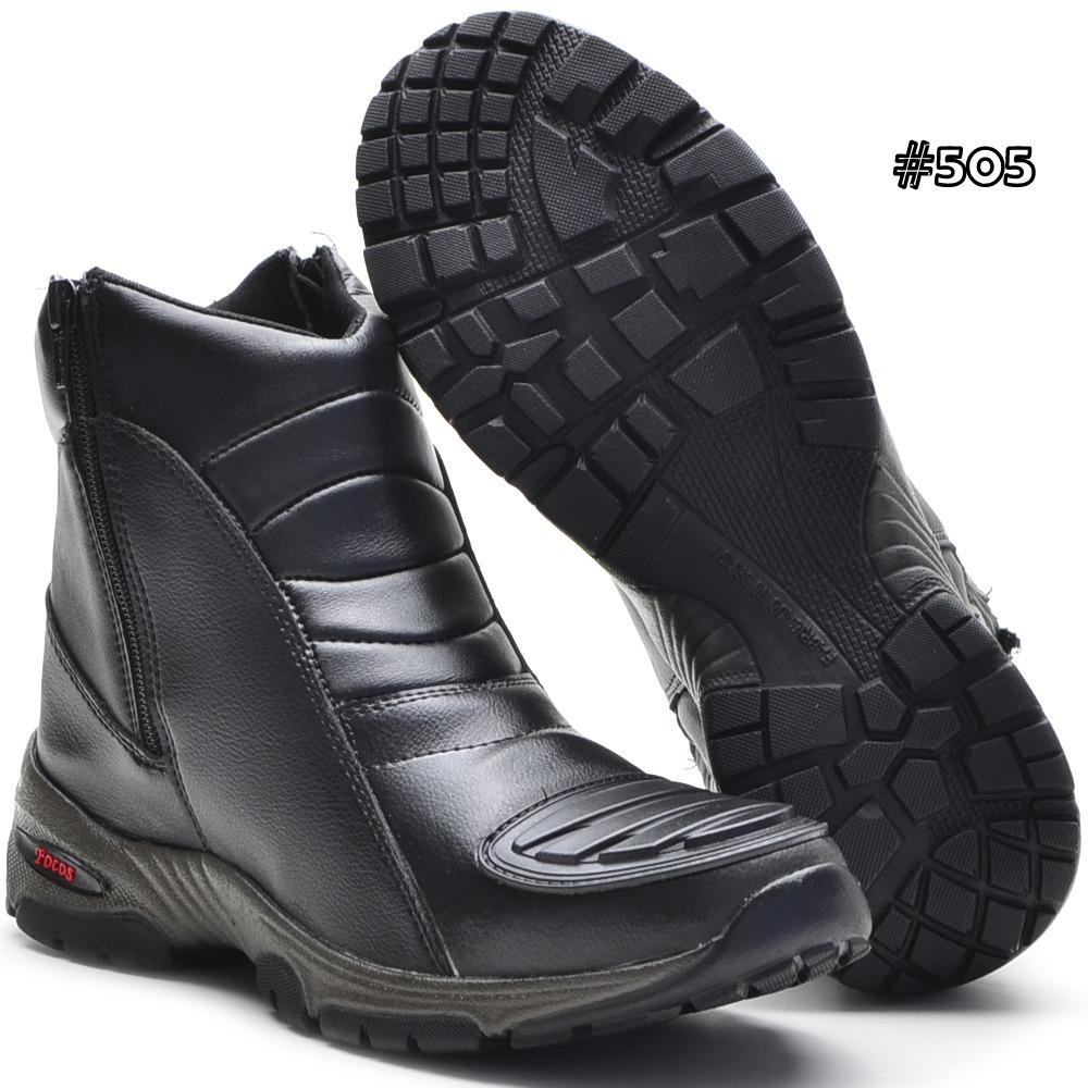 bota para motociclista motoqueiro com proteção de marcha. Carregando zoom. 543326f64d