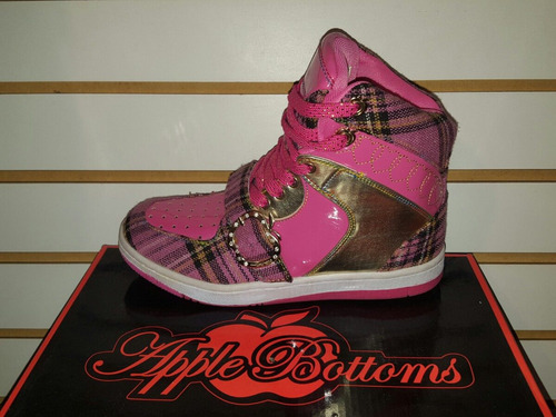 bota para mujer apple bottoms  100%originales importados
