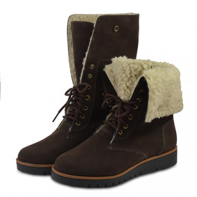 0fcb33ea1 Bota Feminina Tanara Camurça Botas - Sapatos para Feminino com o Melhores  Preços no Mercado Livre Brasil