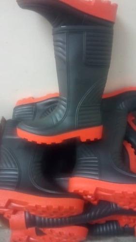 bota plástica pvc sin puntera