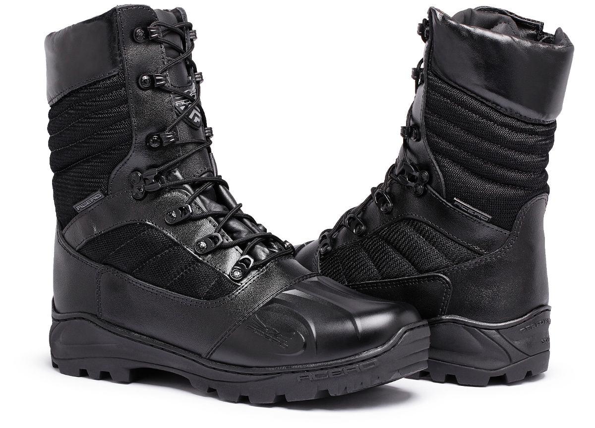 79691f3a4 bota policial coturno acero comando com ziper e palmilha gel. Carregando  zoom.