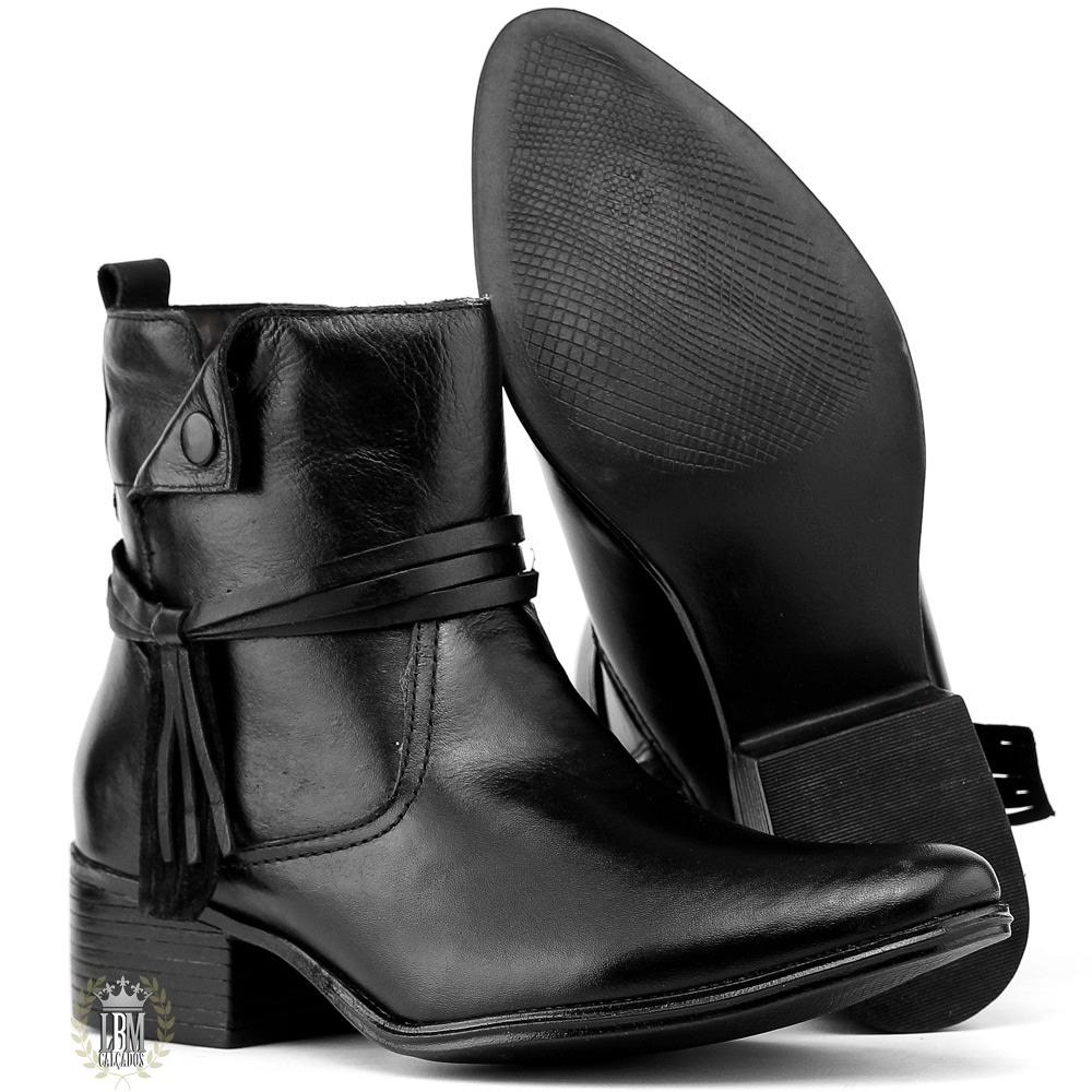 17773220d bota preta feminina cano curto salto promocao de lancamento. Carregando  zoom.