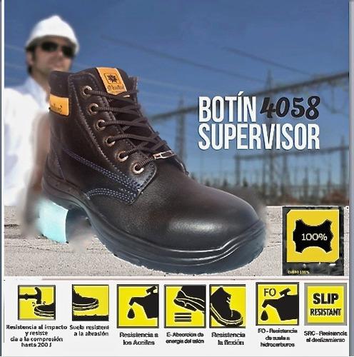 bota punta de acero botin dielectrico composite seguridad