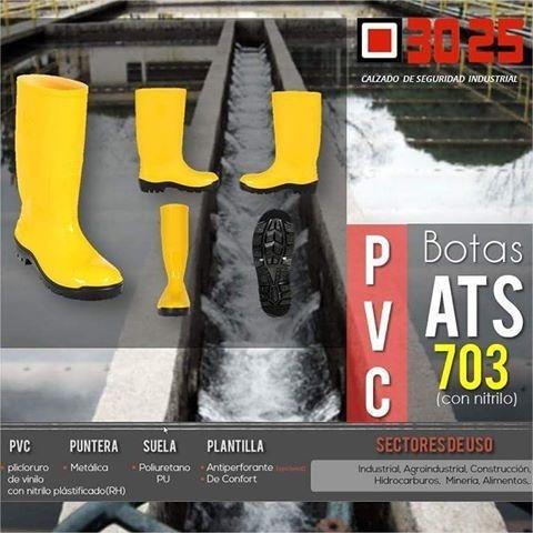 Bota Pvc Caucho Pantanera Amarilla Con Punta Certificada