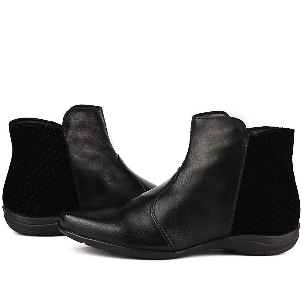 cbf972a78f0 bota rasteira feminina couro legítimo alta qualidade oferta. Carregando zoom .