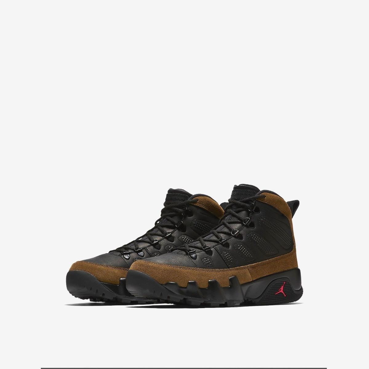 sale retailer d44d6 327e0 Bota Retro Nike Air Jordan 9 Olive Ix Nrg Ar4491 012